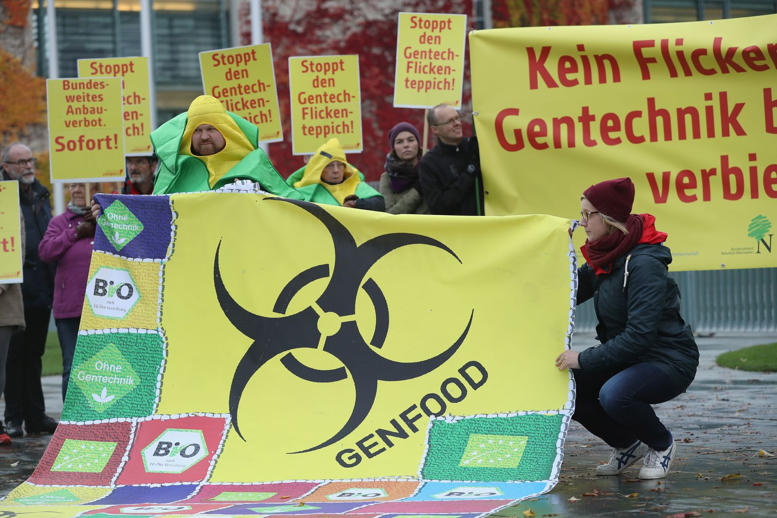 Genfood / Proteste