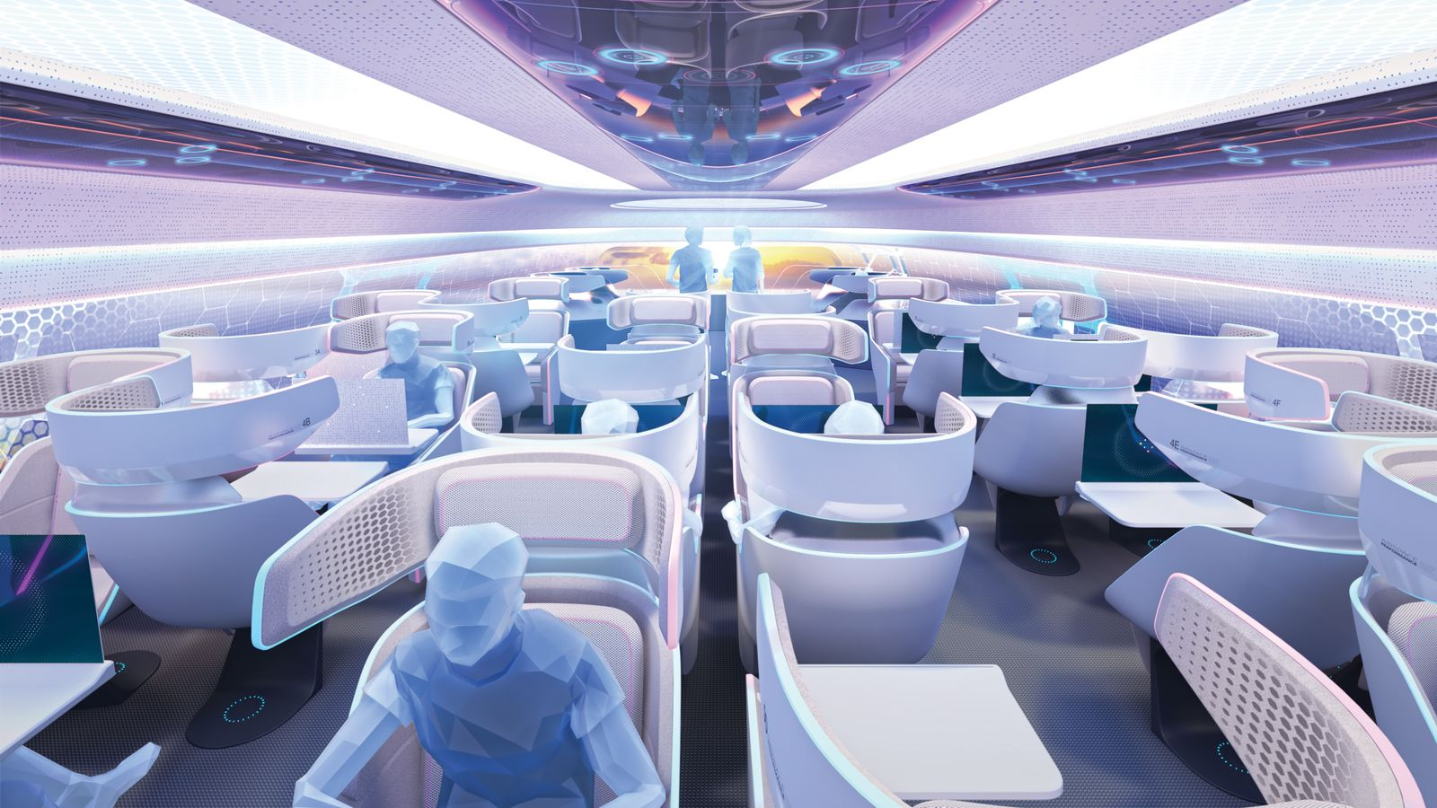 Crystal Cabin Award / Airbus / Airspace Cabin Vision 2030