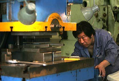 """Metall-Arbeiter in China: """"Durchaus hoffnungsvolle Aussichten"""""""
