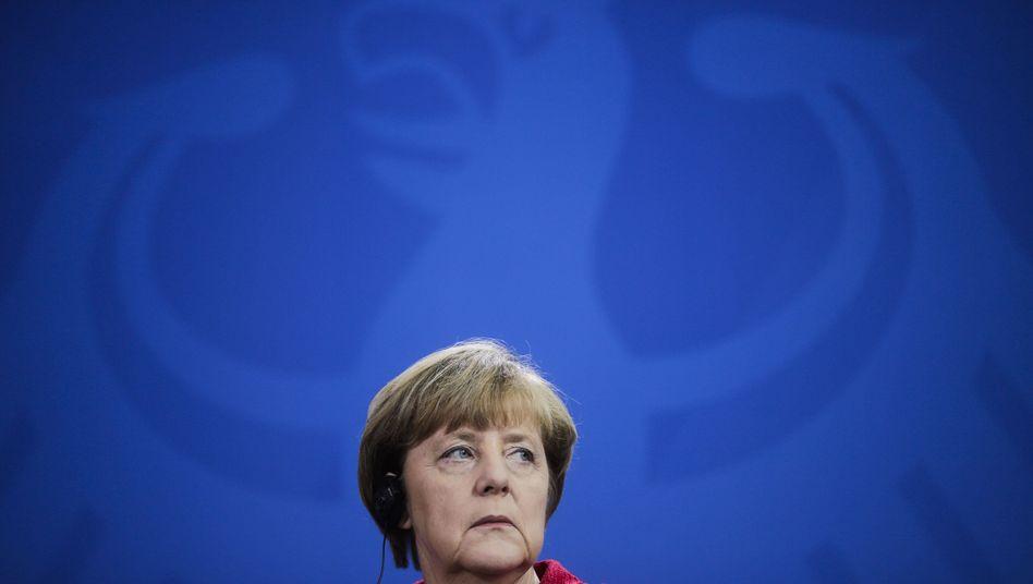 """Kanzlerin Merkel: """"Schäuble ist eine Klasse für sich"""""""