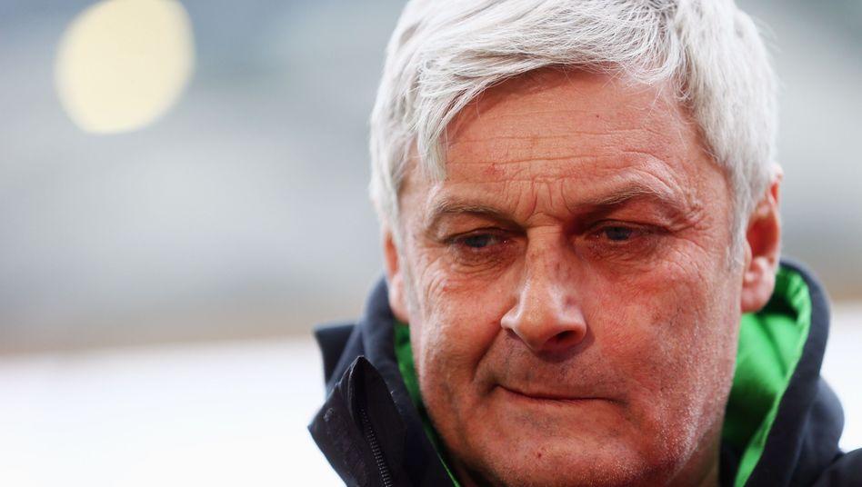 Frankfurt-Trainer Armin Veh: Bleibt bis 2014