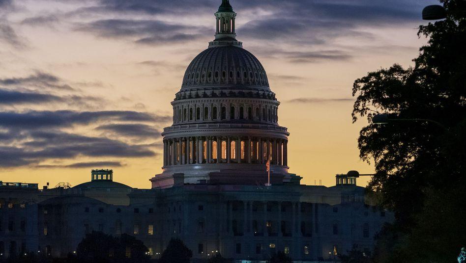 Kapitol in Washington: Klares Zeichen an die Türkei - mit entsprechendem Feedback