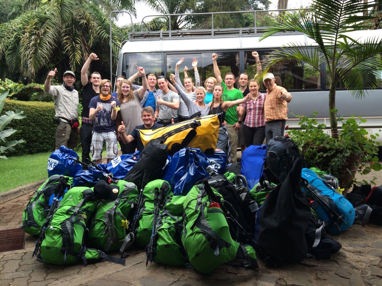 EINMALIGE VERWENDUNG Upstalsboom / Kilimandscharo