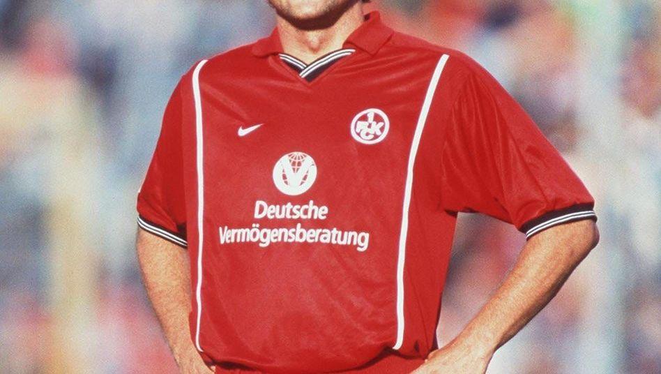 FCK-Torjäger Marschall: Das prominenteste Nasenpflaster-Gesicht der Bundesliga