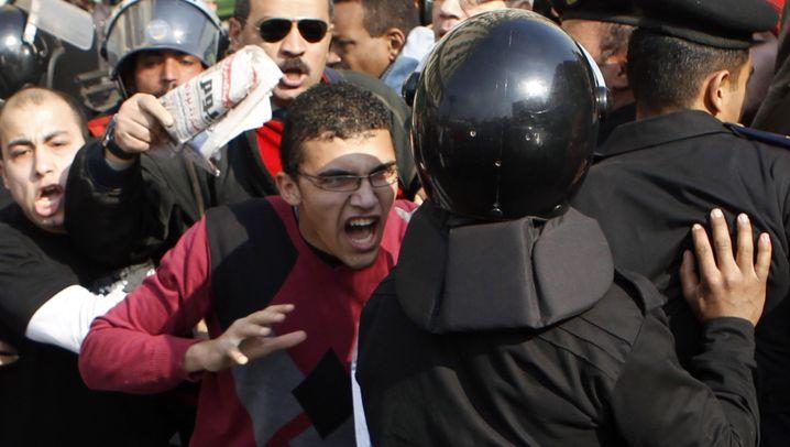 Proteste gegen Mubarak: Aufruhr in Kairo