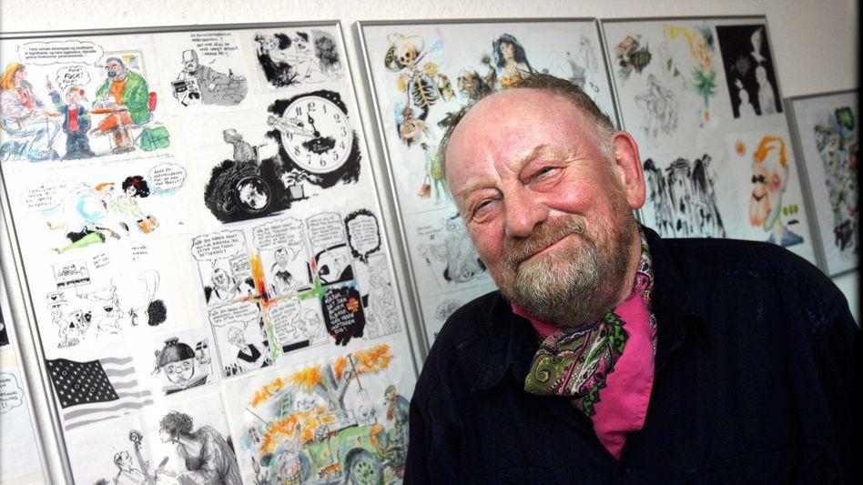 Kurt Westergaard (2010): Der Zeichner stand unter Polizeischutz