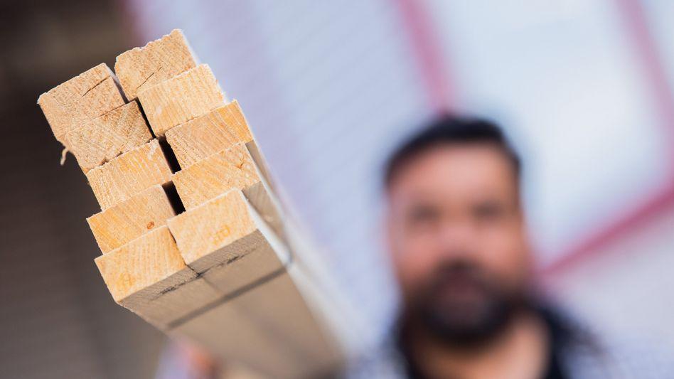 Bauholz: Steigende Nachfrage im In- und Ausland