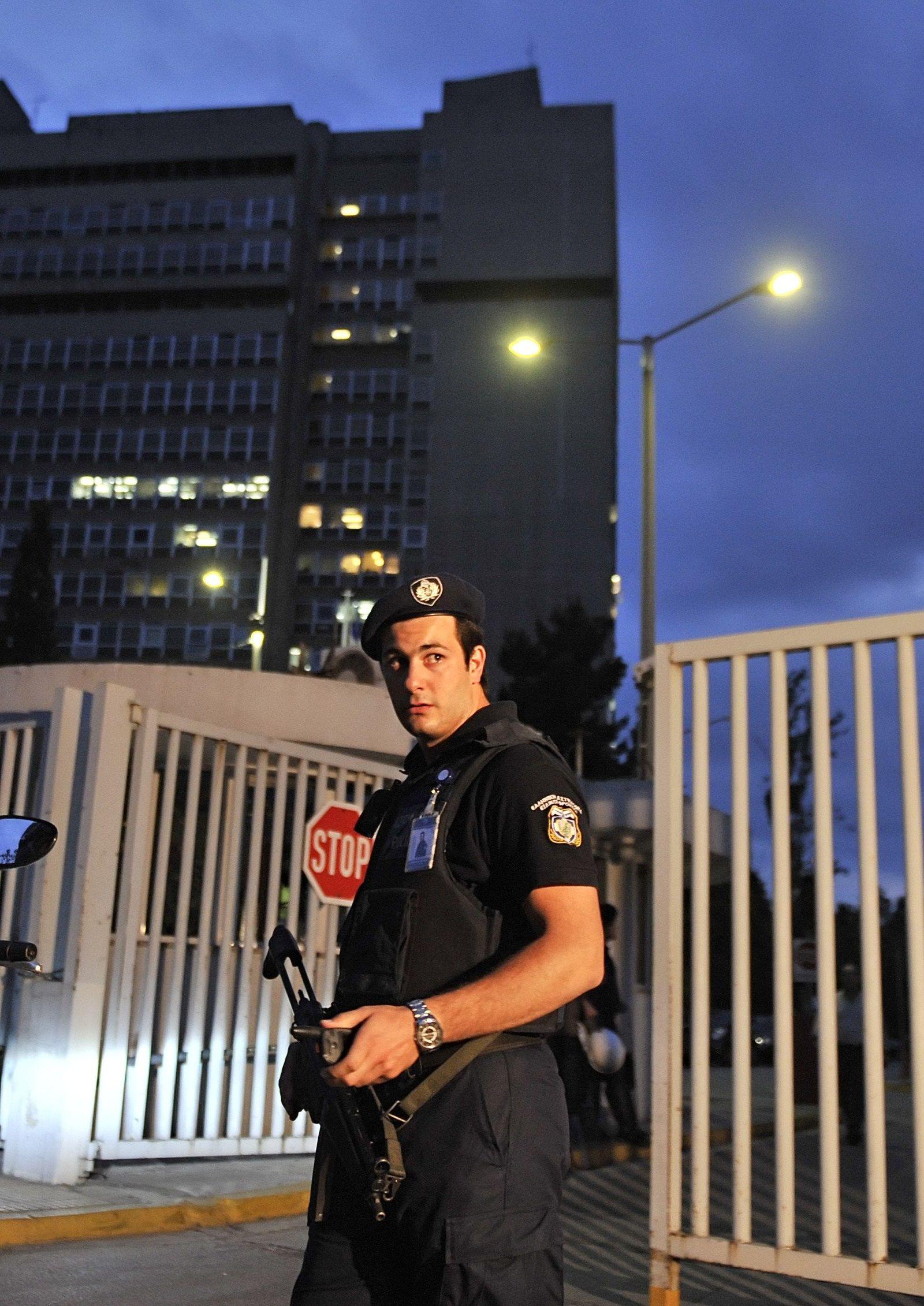 griechenland anschlag polizist