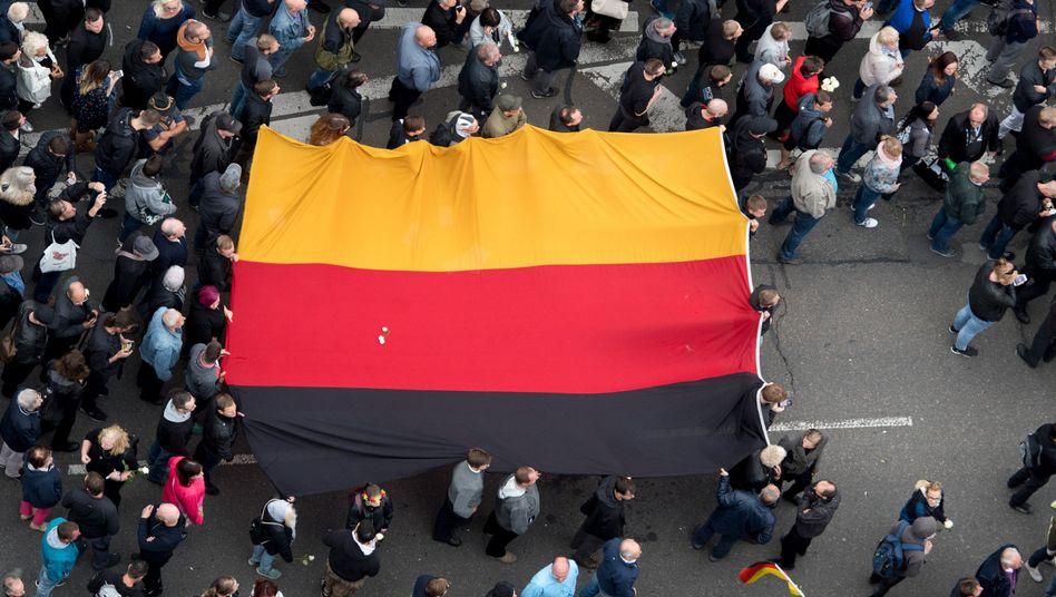 Gemeinsame Demonstration von AfD und Pegida in Chemnitz, 1.9.2018