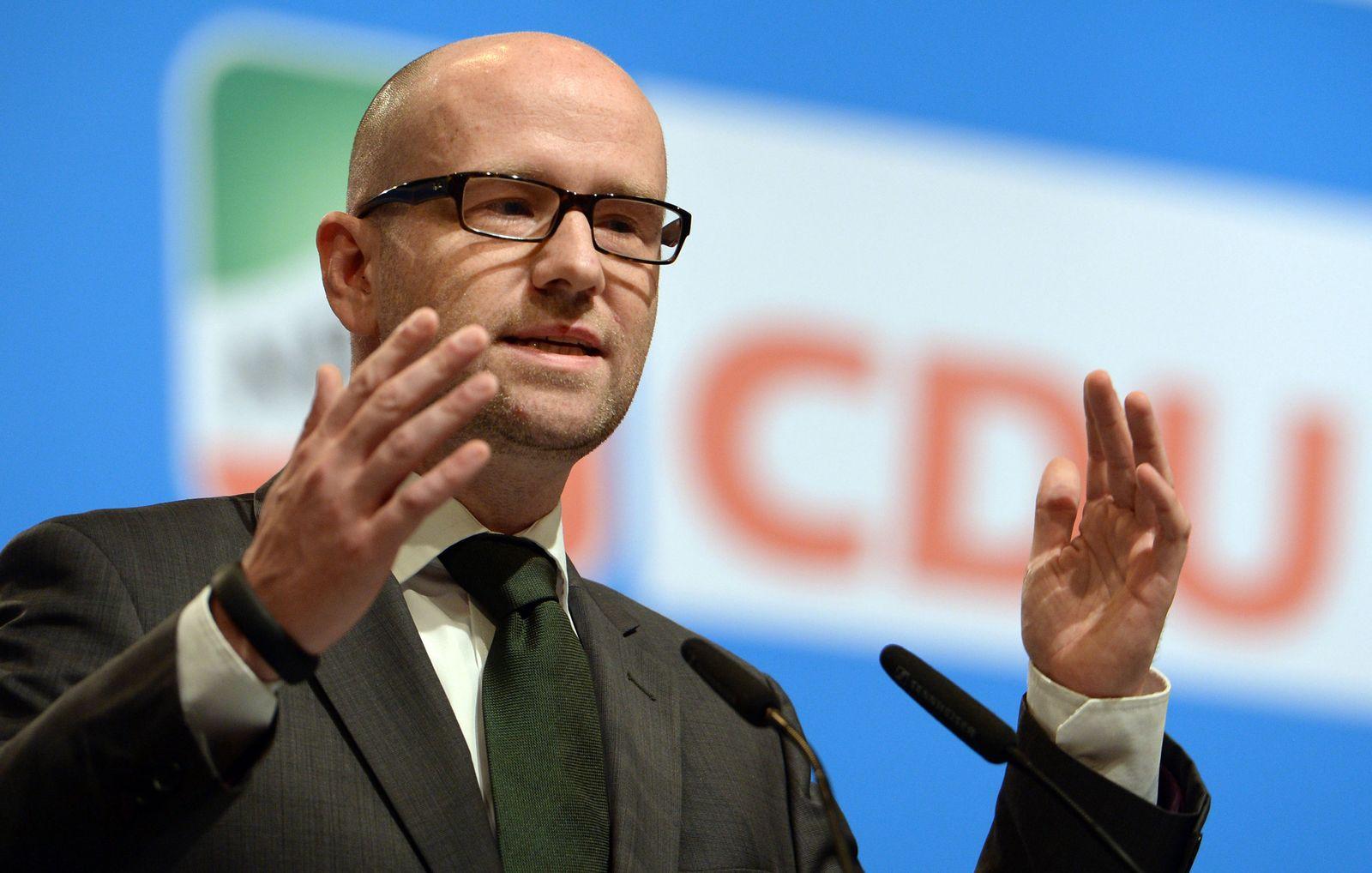 CDU Landesparteitag in Düsseldorf Peter Tauber