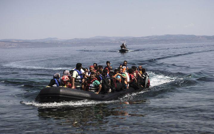 """Flüchtlinge in Griechenland: """"Bilder haben eine große Macht"""""""