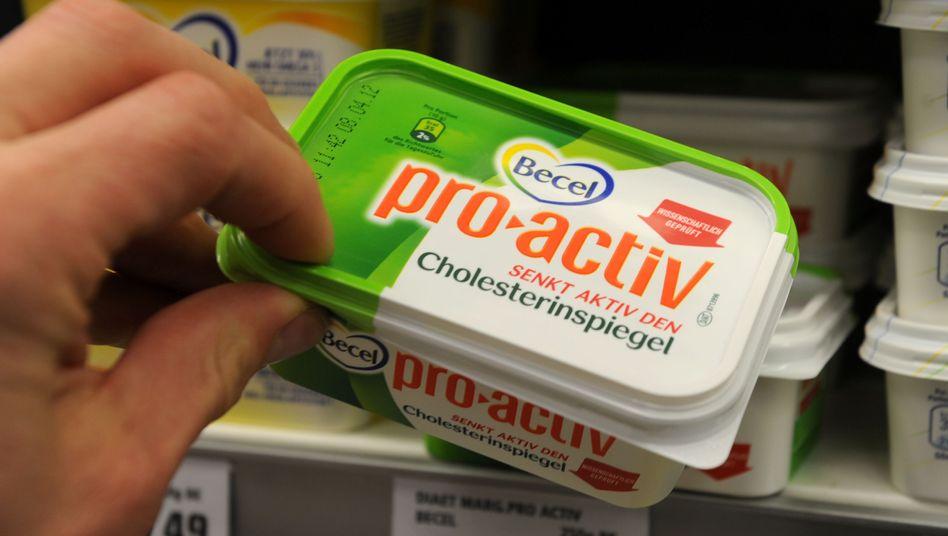 """Becel pro.activ: """"Senkt aktiv den Cholesterinspiegel"""", bewirbt Unilever die Margarine"""