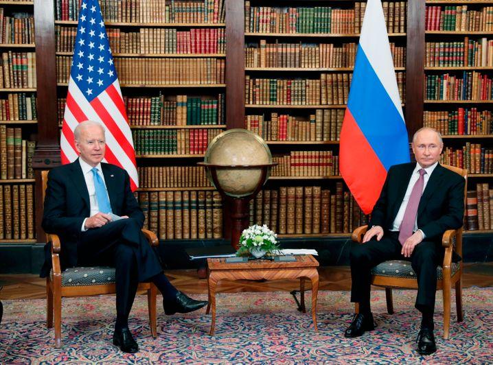 Kaum konkrete Ergebnisse: Biden und Putin in Genf
