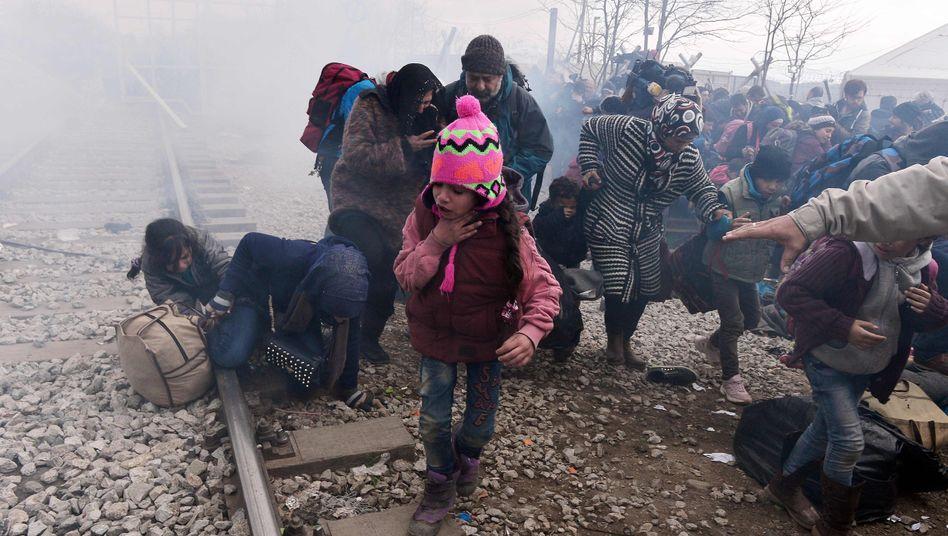 Flüchtlinge in Mazedonien: In Idomeni zeigt sich Europas Versagen
