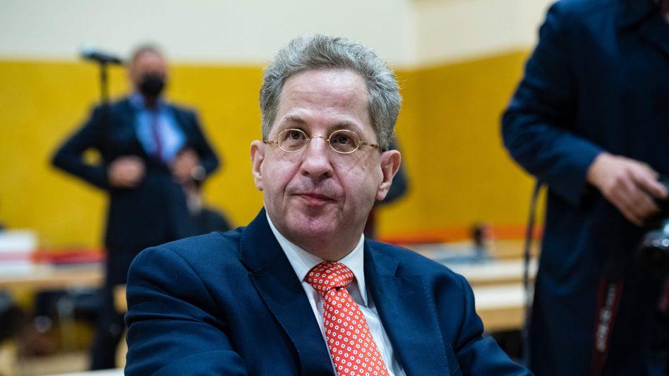 Ex-Verfassungsschutzchef Hans-Georg Maaßen (Archivaufnahme)