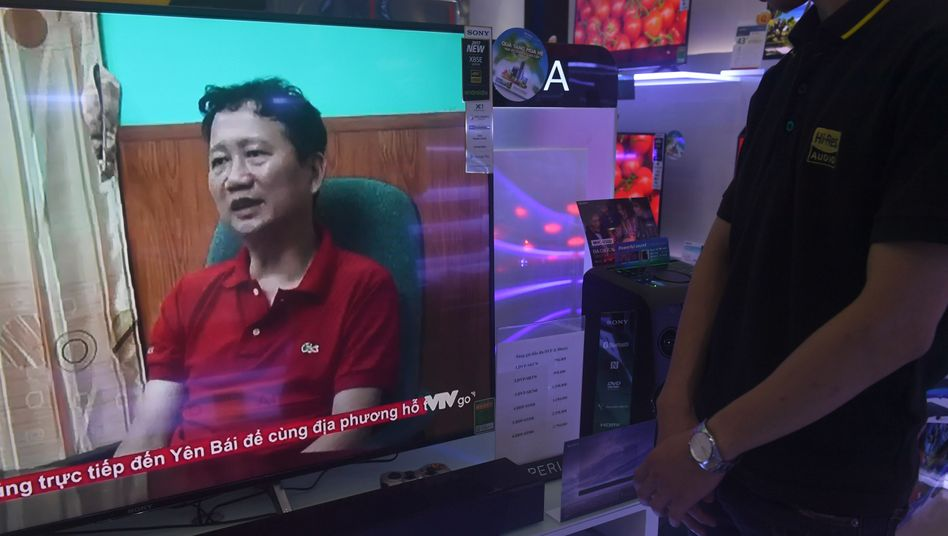 Verschleppter Geschäftsmann Trinh Xuan Thanh (im vietnamesischen Fernsehen)