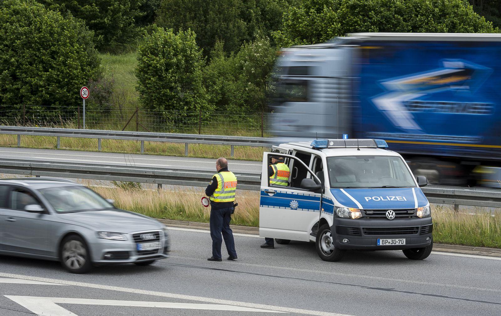 Grenzkontrollen / G20-Gipfel / Polizei