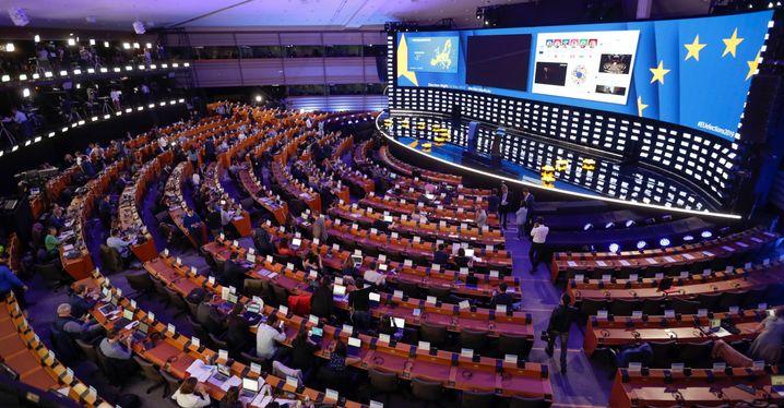 EU-Parlament in Brüssel: Keine Mehrheit mehr für eine Große Koalition