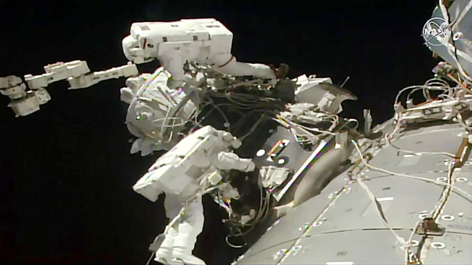 Raumstation/ ISS