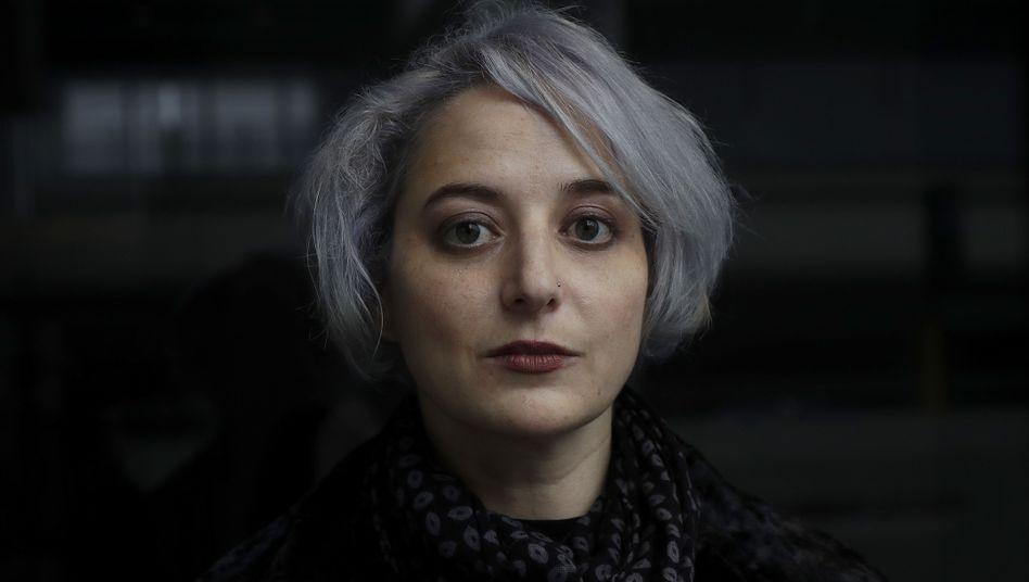 """Sicherheitsforscherin Eva Galperin von der EFF kämpft gegen Spionagesoftware - ihre Organisation ist Teil des neues Bündnisses """"Koalition gegen Stalkerware"""""""