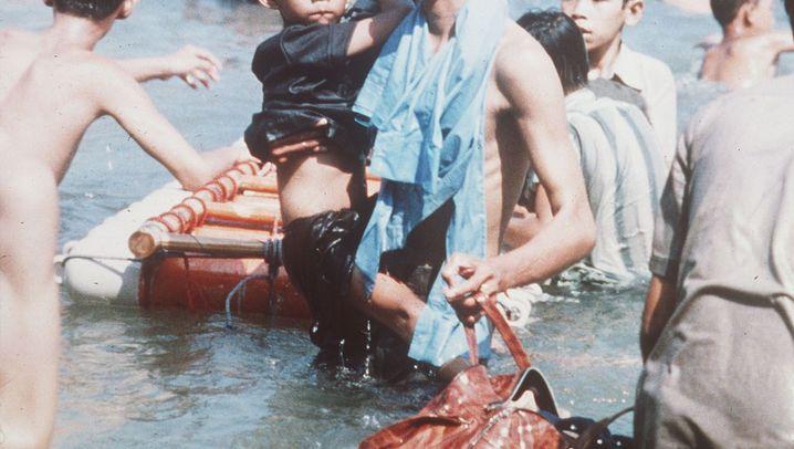 Katastrophe im Südchinesischen Meer: Durch Zufall überlebt