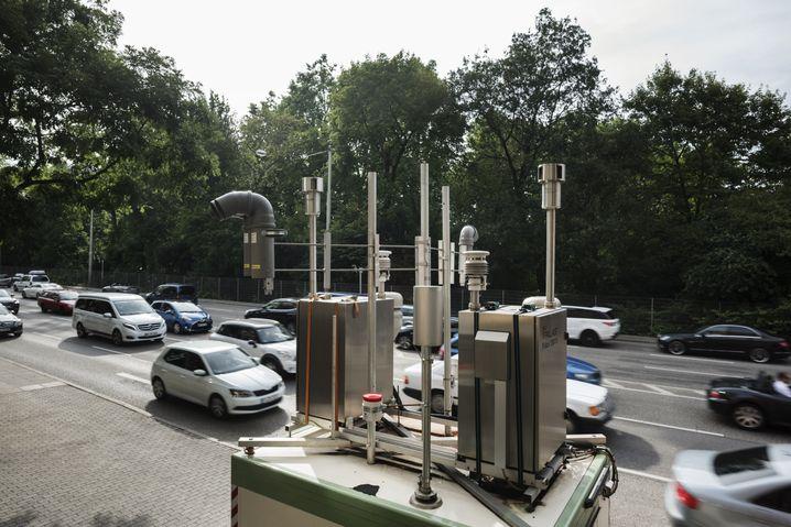 Messstation am Neckartor: Dieselmahnmal
