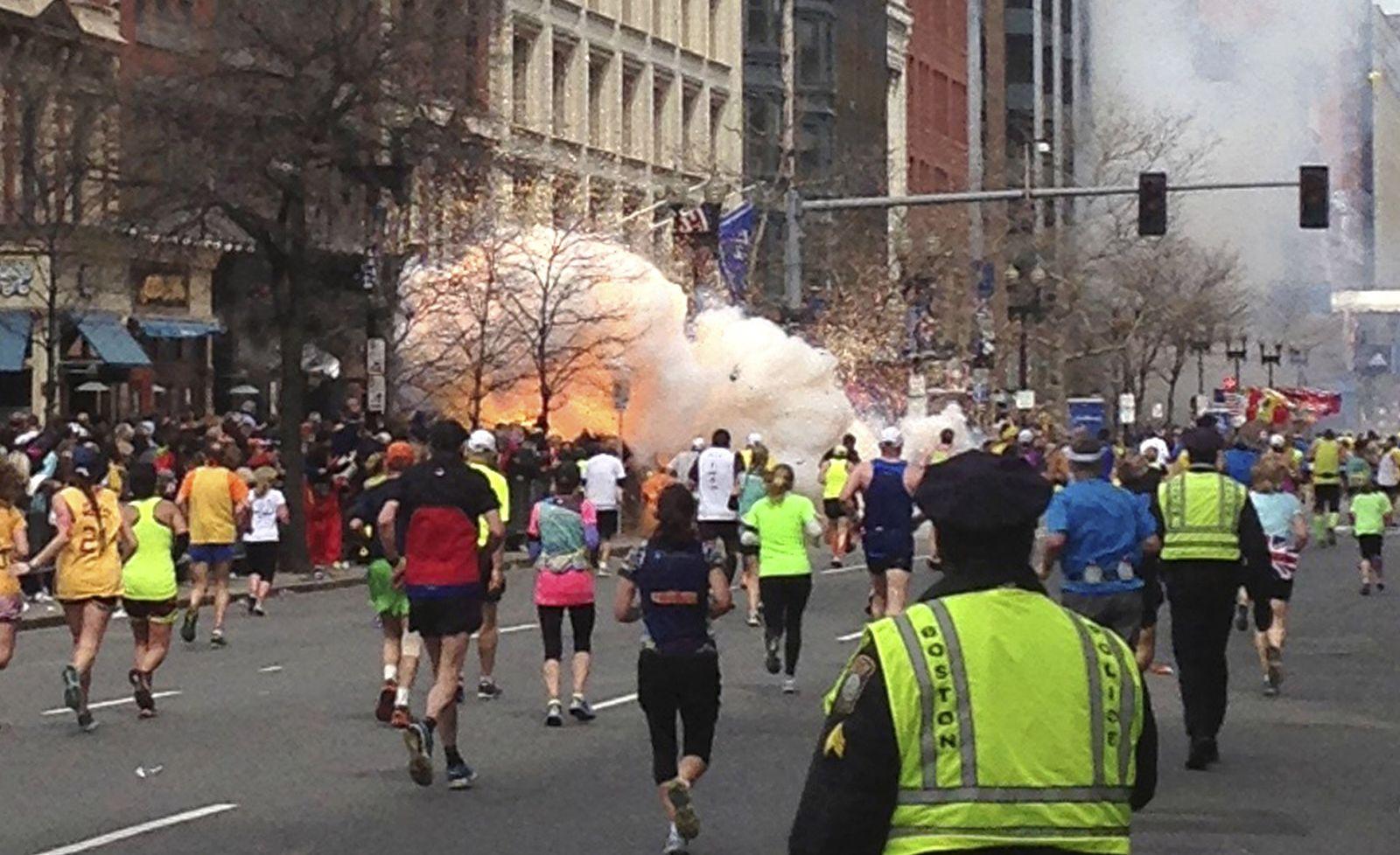Boston Marathon/ Jahrestag