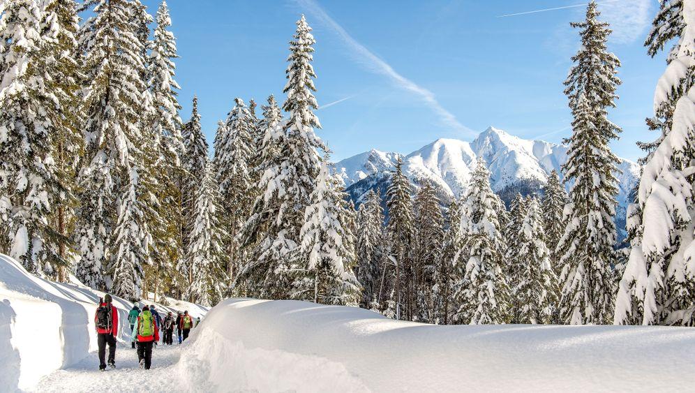 Weitwandern im Winter: Der Schnee ist das Ziel
