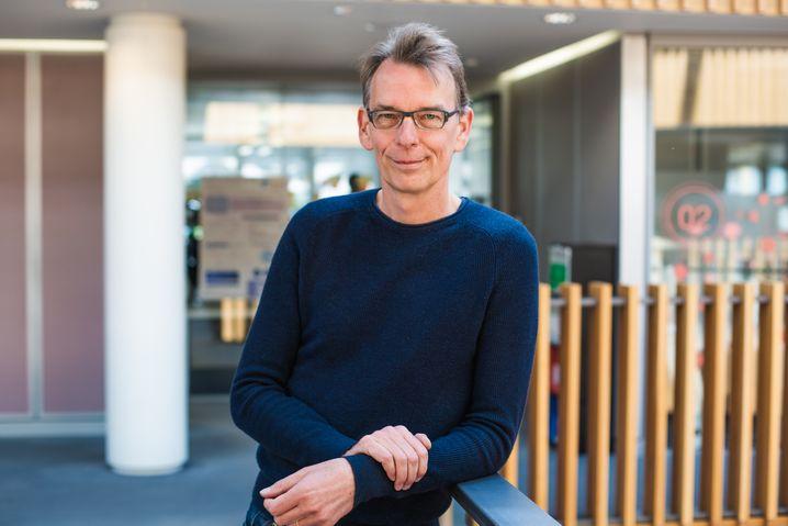 Der Direktor des Europäischen Instituts für Bioinformatik, Rolf Apweiler