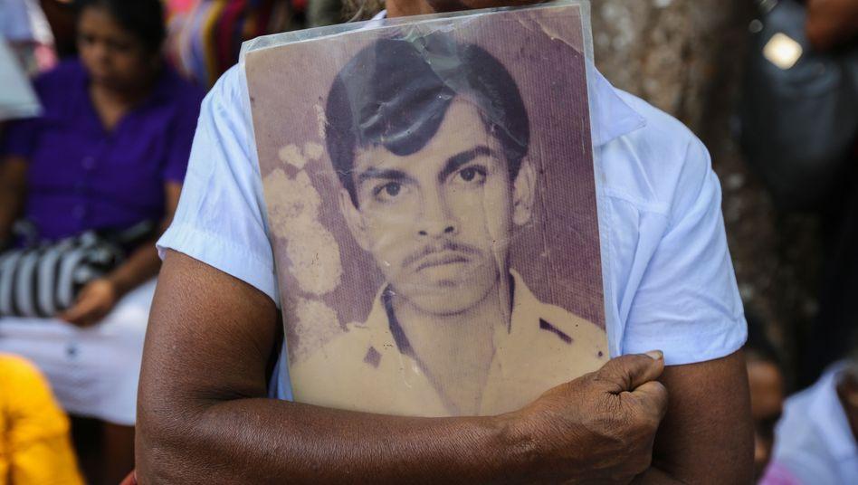 Bis heute suchen Familien in Sri Lanka nach ihren vermissten Angehörigen