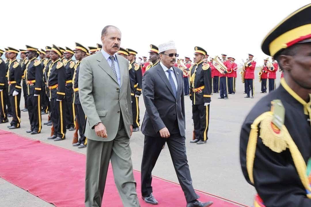 Afewerki Mohamed Abdullahi Mohamed Eritrea Somalia