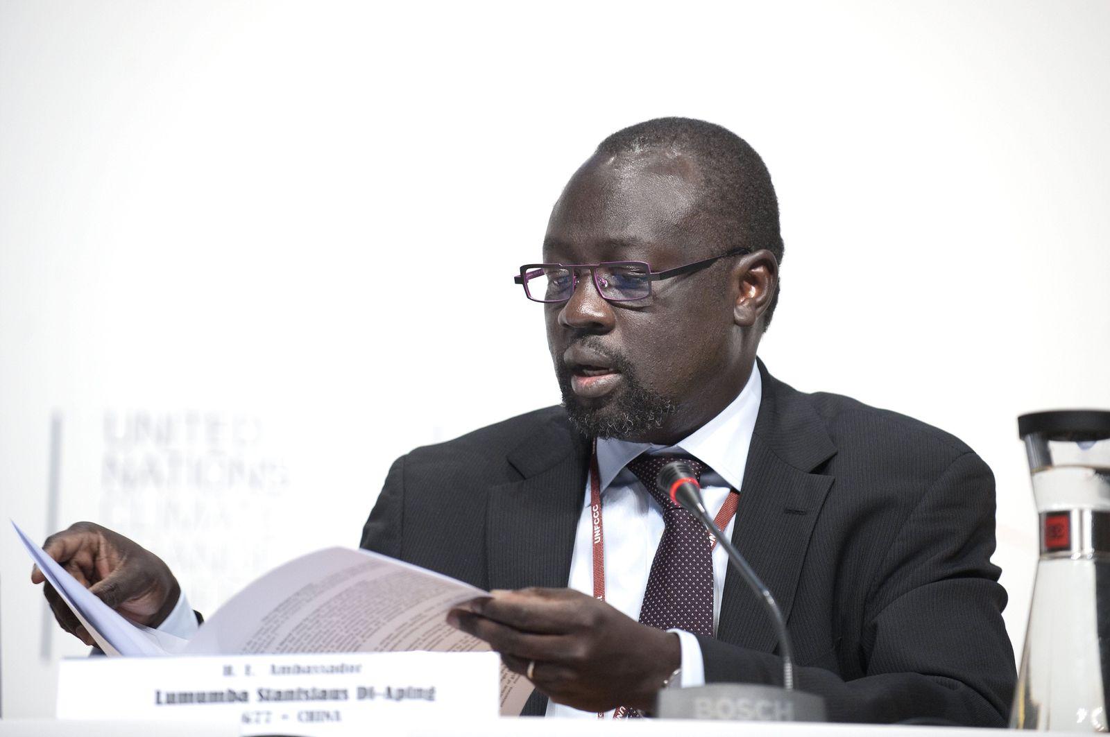 Lumumba Stanislaus DI-Aping