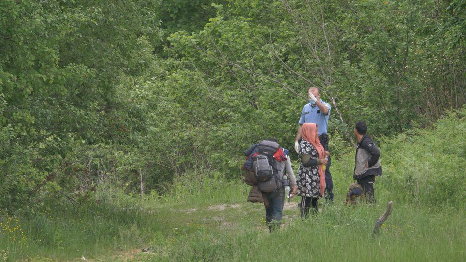 Pushback an der EU-Außengrenze: »Go back Bosnia«