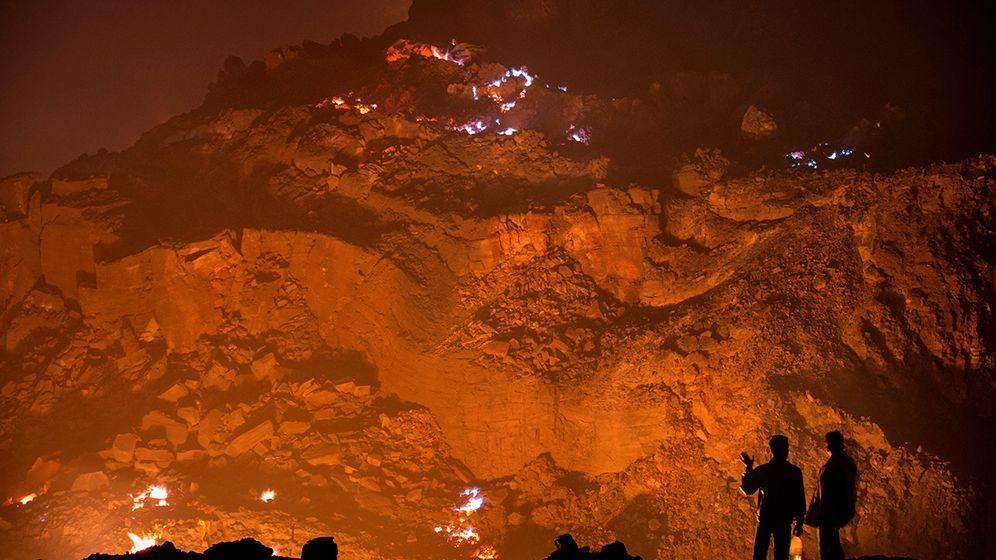 Kohlefeuer in Indien: Inferno vor der Haustür