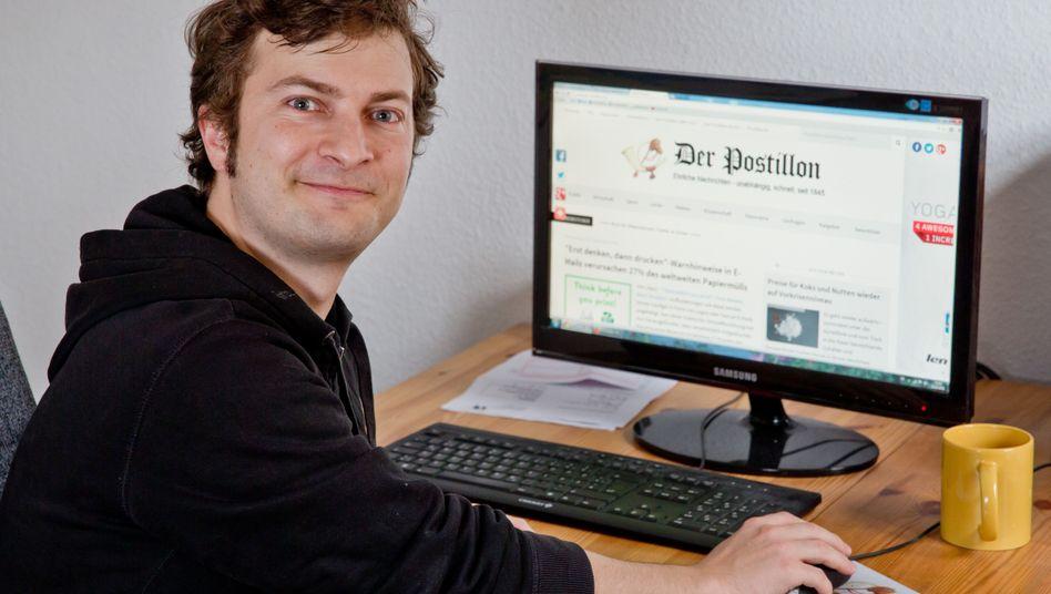 """Postillon""-Gründer Stefan Sichermann"
