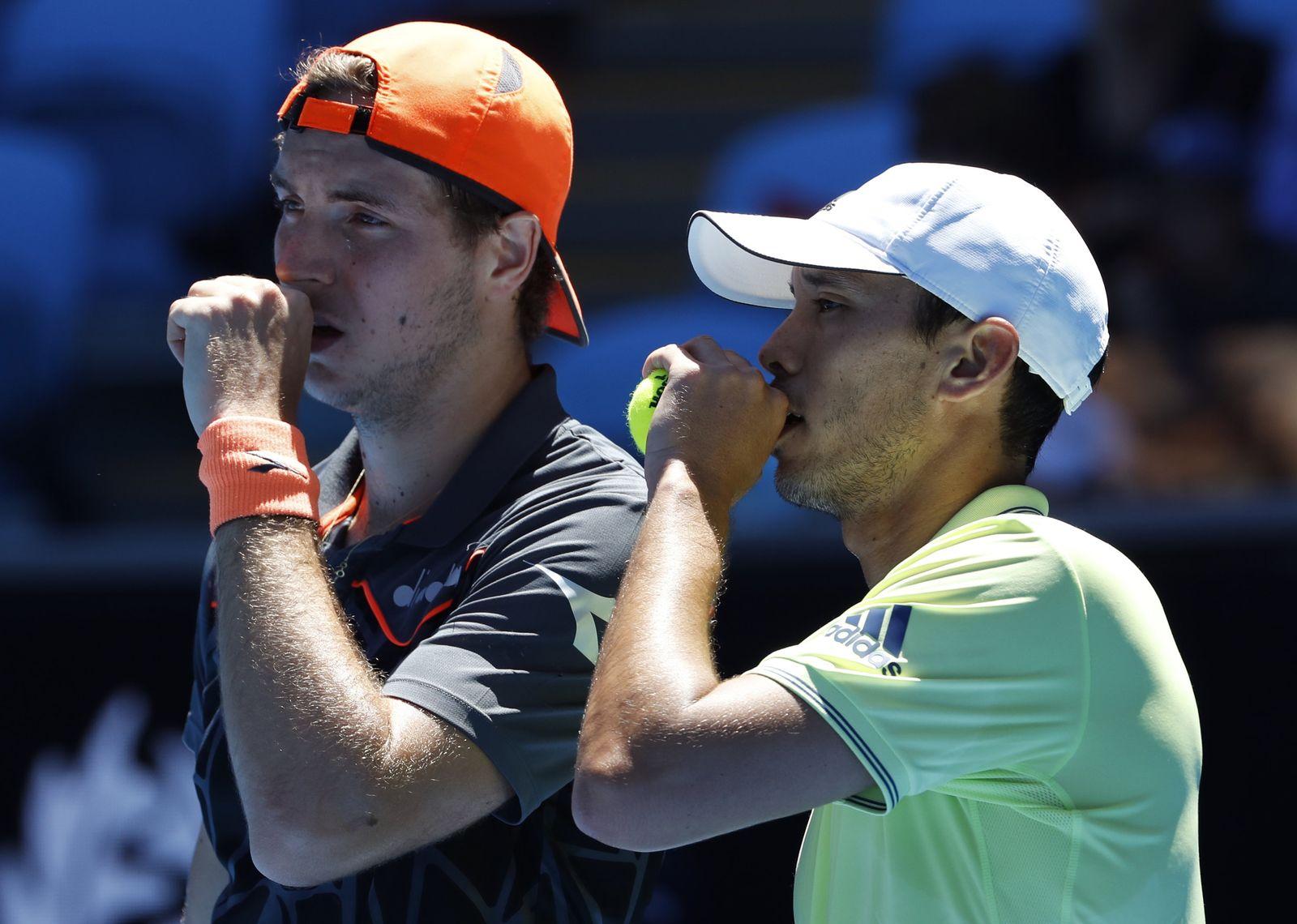 ATP-Tour - Australian Open Struff McLachlan