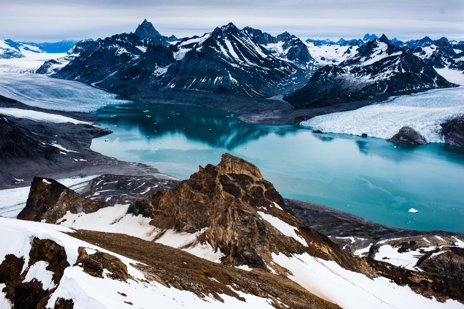 EINMALIGE VERWENDUNG Grönland