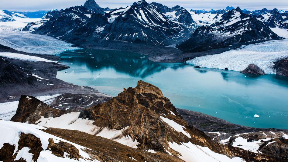 Region im Osten von Grönland