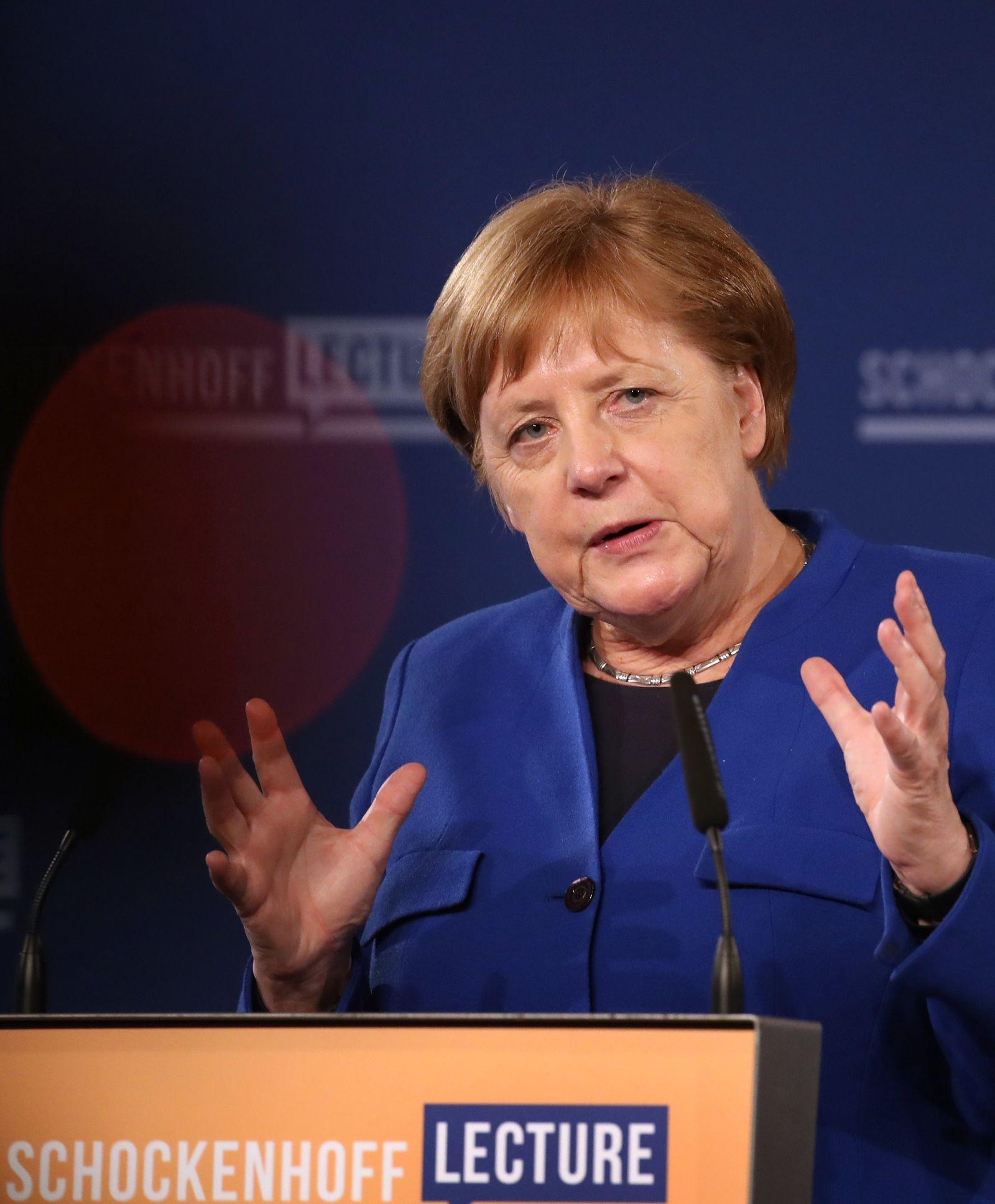 Premiere der Dr. Andreas Schockenhoff-Lecture mit Angela Merkel