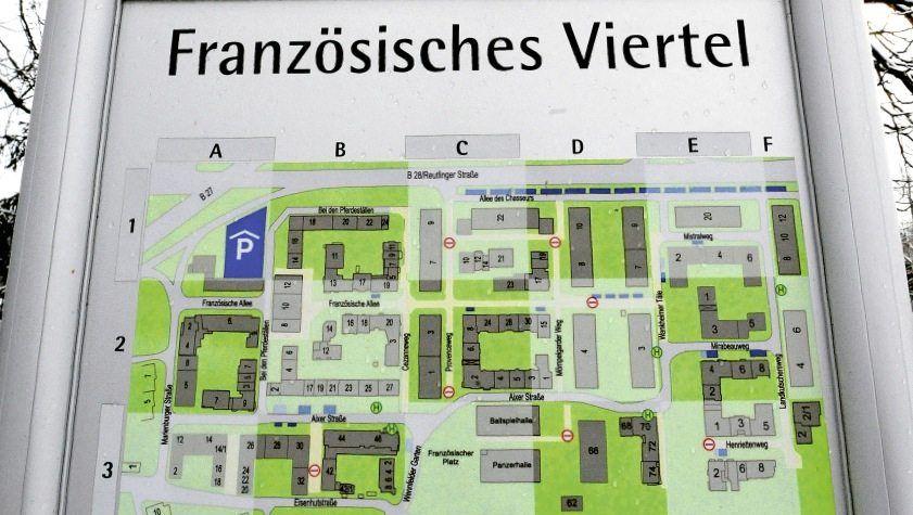 Im Französischen Viertel sollen die Wege kurz und die Kontakte zahlreich sein. Im Französischen Viertel sollen die Wege kurz und die Kontakte zahlreich sein.