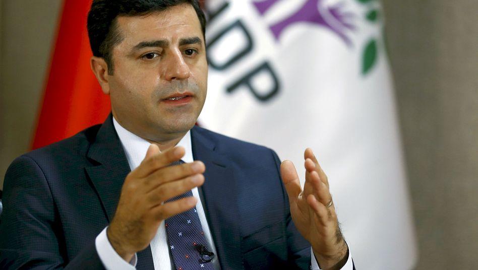 HDP-Chef Selahattin Demirtas: Ermittlungen eingeleitet