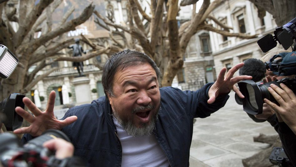 Ai Weiwei im September in London: Ärger mit Lego
