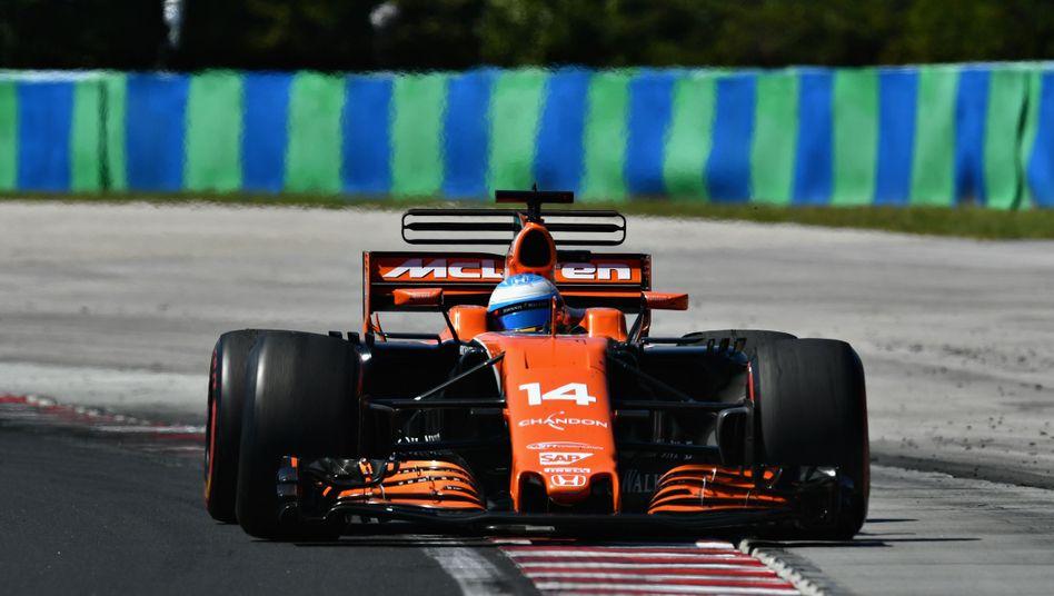 Fernando Alonso auf dem Hungaroring