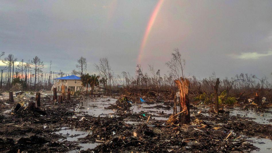 Strand in Florida nach Hurrikan Michael: Das Atombomben-Verfahren birgt gleich mehrere Probleme