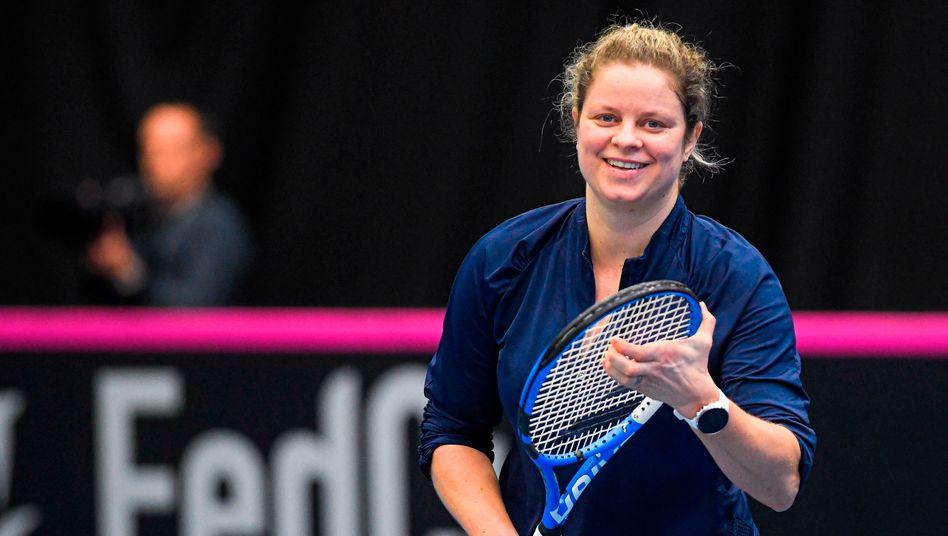 Tennis-Comeback von Kim Clijsters: Dritter Frühling, letzter Versuch