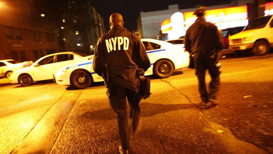 Polizisten in New York: Erfolgreich mit umstrittenen Methoden