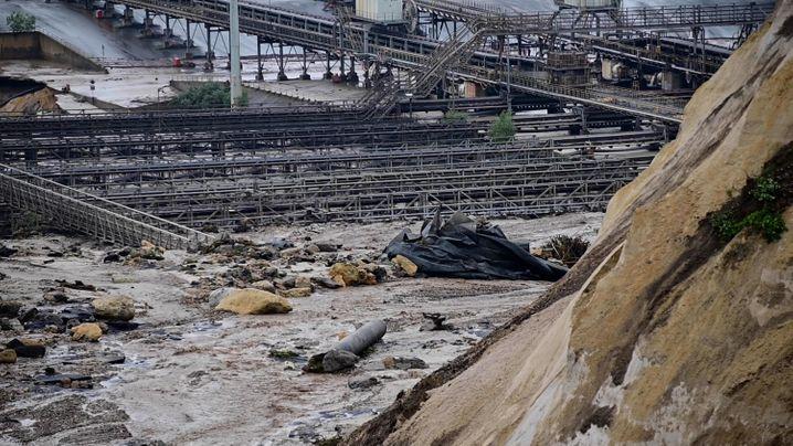 Gefluteter Tagebau in Inden
