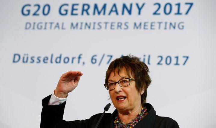 Bundeswirtschaftsministerin Brigitte Zypries (SPD)