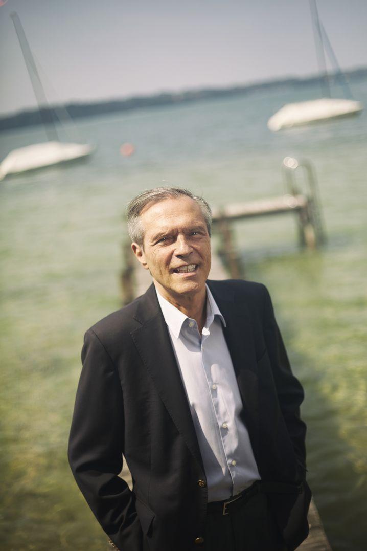 Michael Steiner spent decades as a German diplomat, including a short stint as Chancellor Gerhard Schröder's foreign policy advisor.
