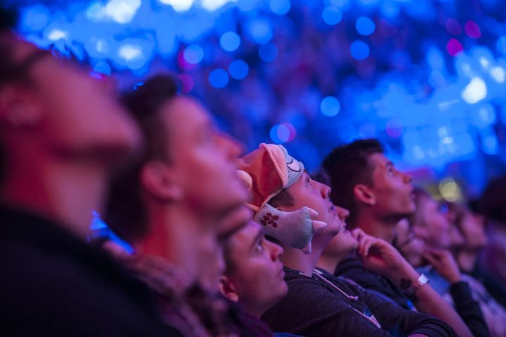 "Fans beim WM-Finale von ""League of Legends"""